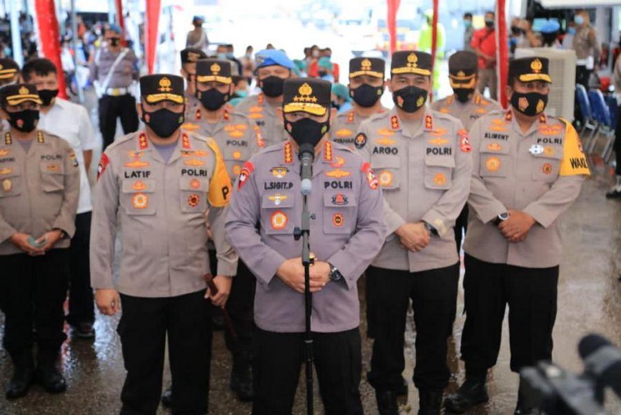 Kapolri Minta Anggota Polisi Terlibat Narkoba Dibinasakan