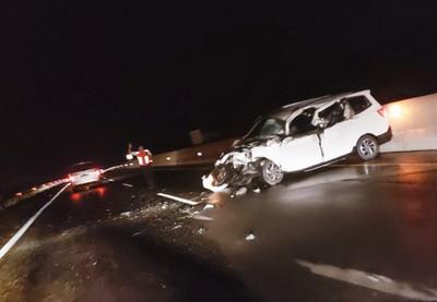 Kembali Terjadi Kecelakaan di Tol Permai, Kali Ini Antara Wuling VS Truk Fuso