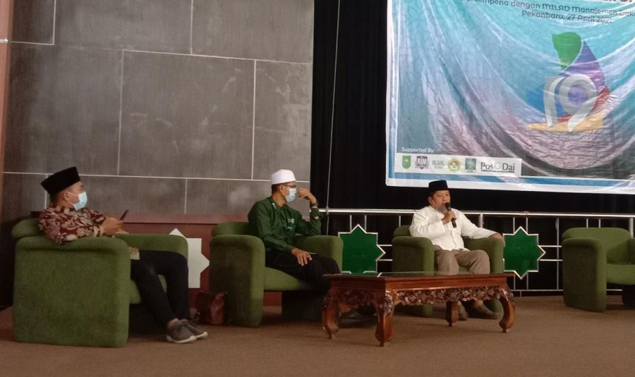 LDII Riau Jalankan Dakwah Digital Dimasa Pandemi Covid 19 Manfaatkan Teknologi SDC Senkom