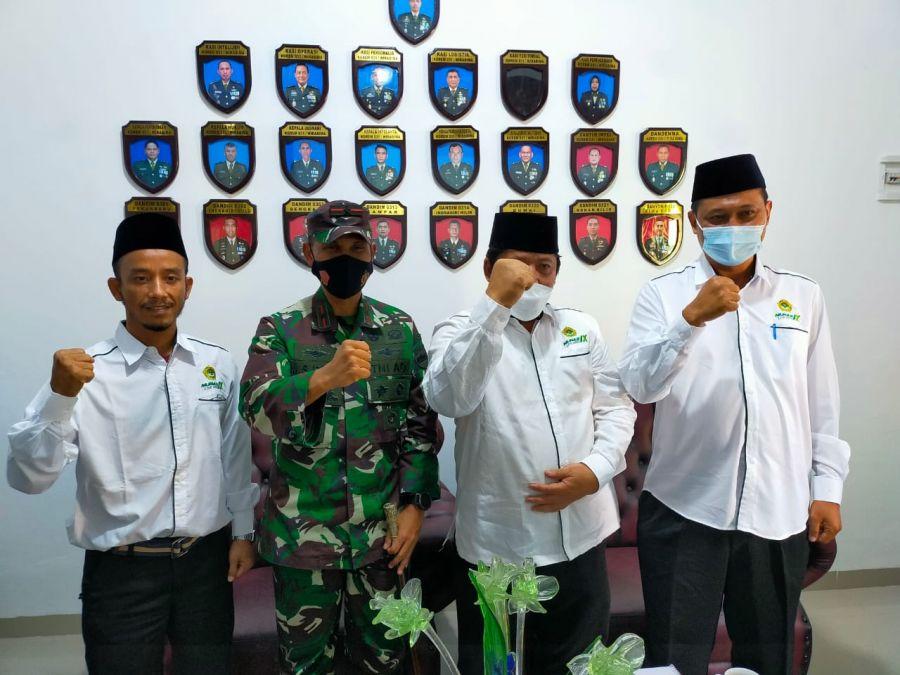 LDII Riau Kunker ke Korem 031/WB, M. Syech Ismed: Saya Berharap LDII Menjadi Corong Umat Islam
