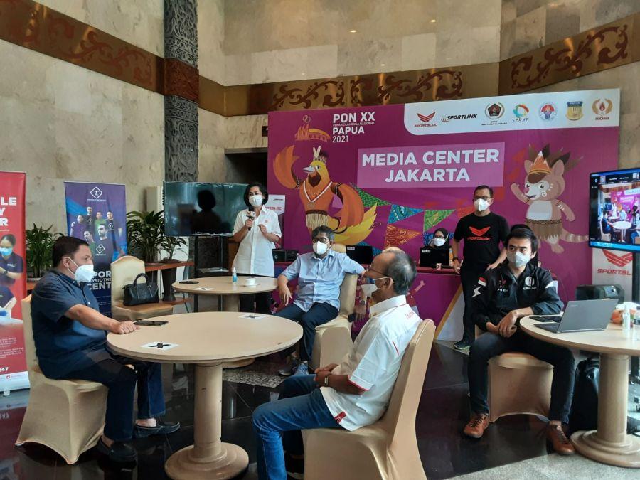 Pembukaan Media Center Jakarta PON XX Papua 2021