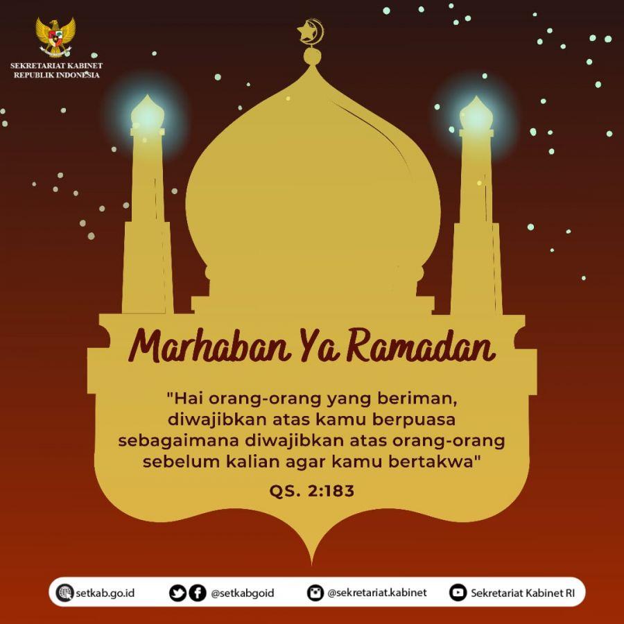 Pemerintah RI Tetapkan 1 Ramadan 1442 Hijriah Jatuh pada Selasa, 13 April 2021