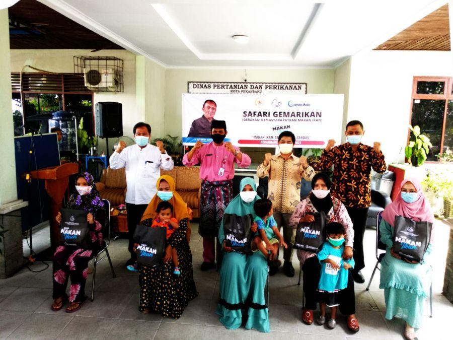 Perangi Stunting, KKP Laksanakan Safari Gemarikan di Bumi Lancang Kuning Riau