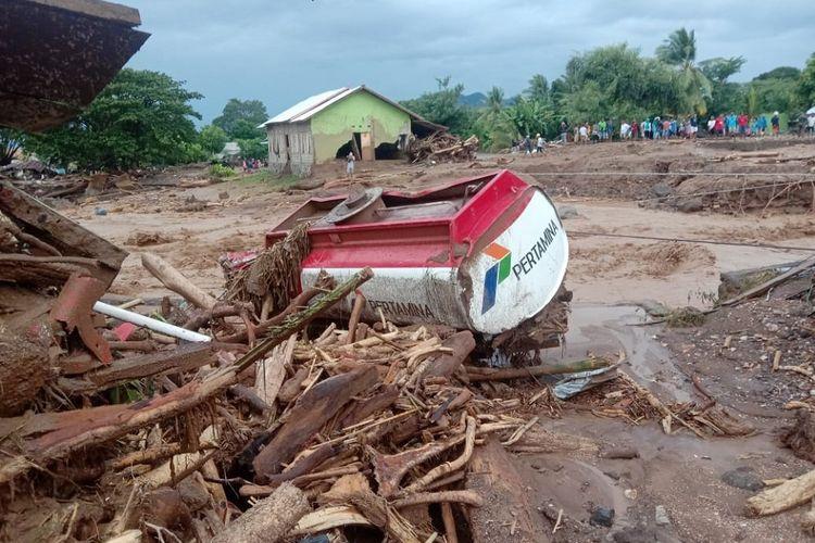 #PrayForNTT, Bagaimana Situasi Banjir Bandang di NTT?
