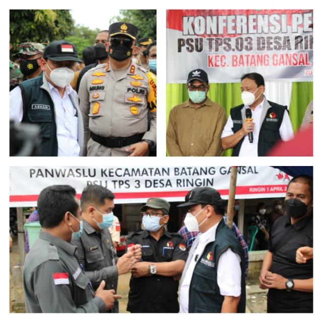 PSU Bupati dan Wakil Bupati Inhu Dapat Perhatian Bawaslu Pusat