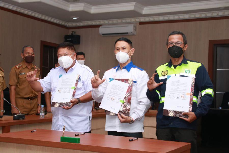 PT Bukit Pembangkit Innovative MoU Bersama Pemkab Lahat
