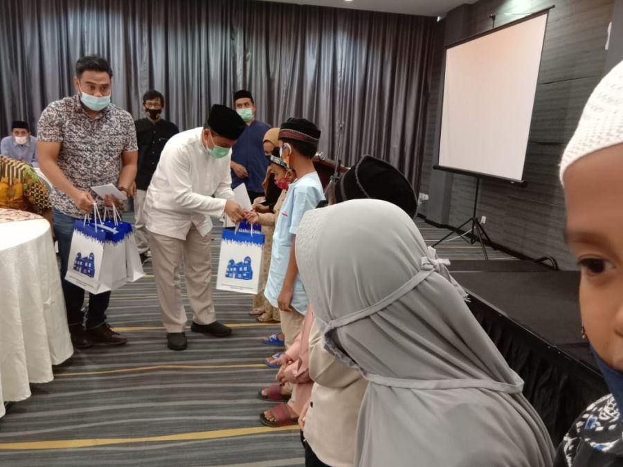 Satuni Anak Yatim Keluarga Wartawan, JMSI Aceh Kerjasama Dengan Bank Indonesia