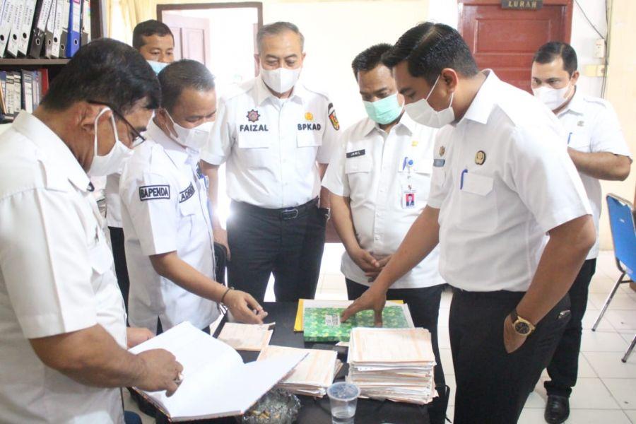 Sekda Sidak 4 Kelurahan, Pastikan SPPT PBB-P2 Sampai ke Wajib Pajak