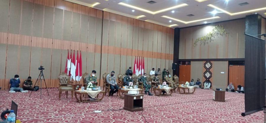 Sikapi PPKM Darurat Jawa-Bali, Wawako dan Forkopimda Rapat Virtual dengan Gubri