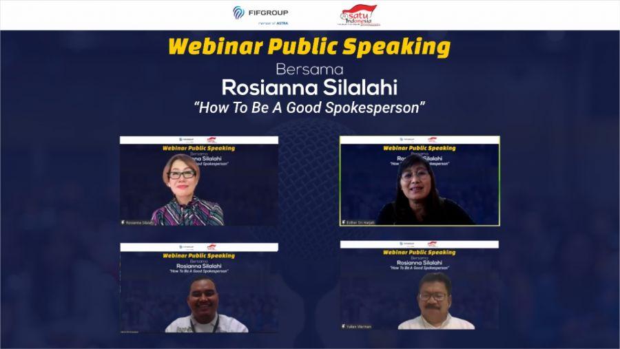 Tidak Percaya Diri Public Speaking di Depan Umum? Berikut Tips dan Trik dari Rosiana Silalahi