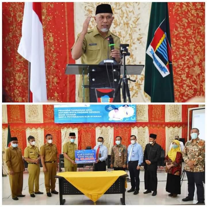 MES Sumbar Gelar Seminar Nasional Beri Pemahaman  Ekonomi dan Lembaga Keuangan Syariah