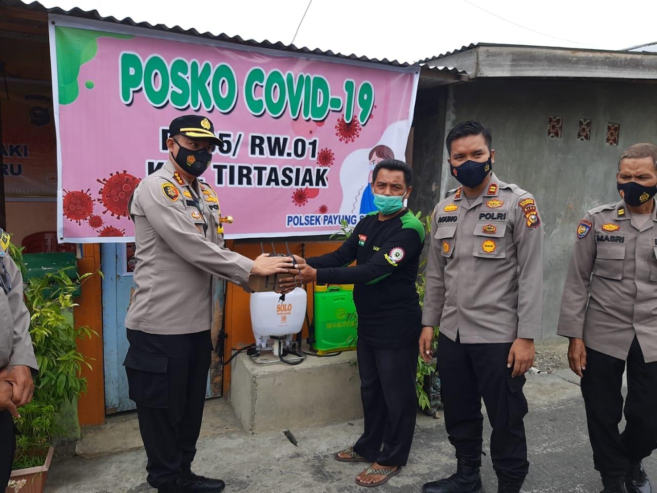 Polresta Pekanbaru Sambangi Kampung Tangguh Kelompok Tani 'JB Bekebun' Payung Sekaki