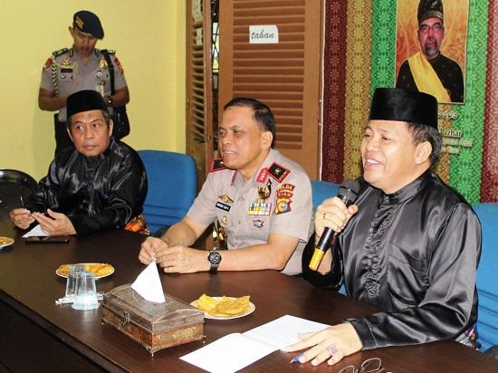 Pasca Ricuh 'Neno Warisman', Kapolda Riau Kunjungi LAMR