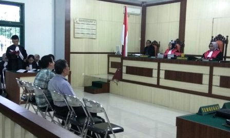 Jaksa Tuntut Direktur PT DSI dan Mantan Kadishutbun Siak 2,5 tahun