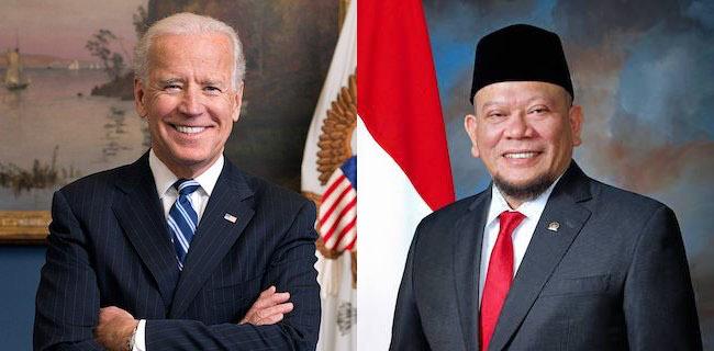 LaNyalla Mattalitti Ucapkan Selamat Atas Kemenangan Joe Biden dan Kamala Harris Pilpres Amerika