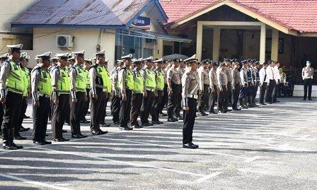 Gelar Pasukan Operasi Patuh 2019, Begini Arahan Kapolresta Pekanbaru