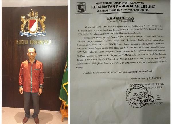 Pendeta Manser Sagala M.Th: PT. Musim Mas Pelalawan Dinilai Persulit Karyawan Beribadah