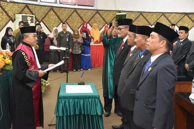 Rapat Paripurna Hari Ini Kukuhkan Syahrial Kani Sebagai Ketua DPRD Padang Periode 2019-2024