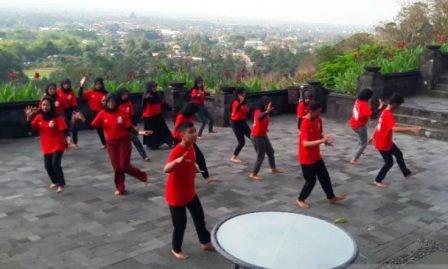 SMN Asal Riau ke Yogyakarta di Sambut Lima BUMN