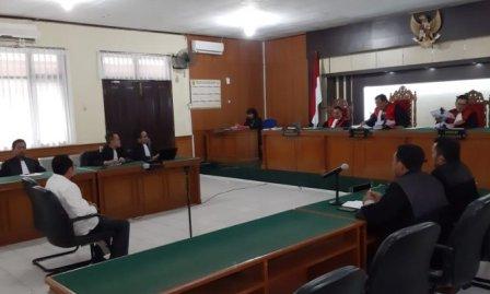 Hakim Tipikor Vonis Mantan Sekda Dumai Tujuh Tahun Penjara