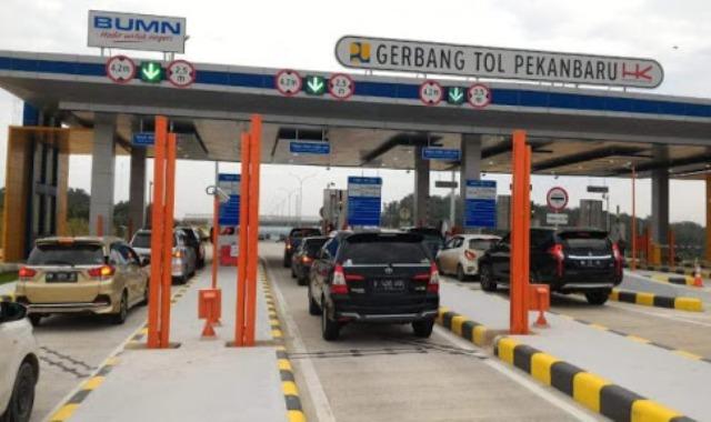 Jalan Tol Pekanbaru - Dumai Hari Ini Sudah Dibuka Untuk Umum Dengan Tarif Gratis