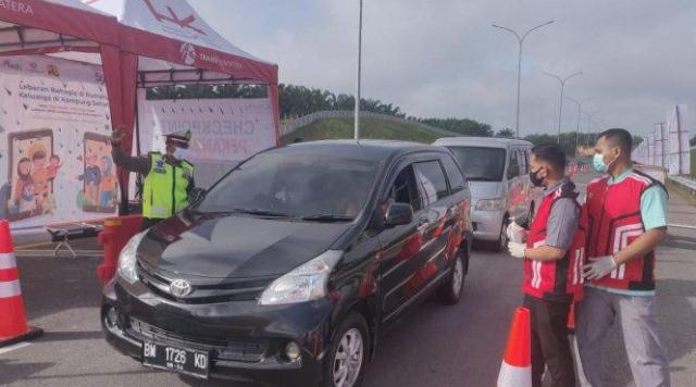 Presiden Jokowi BESOK Resmikan 131 Km Tol Pekanbaru-Dumai