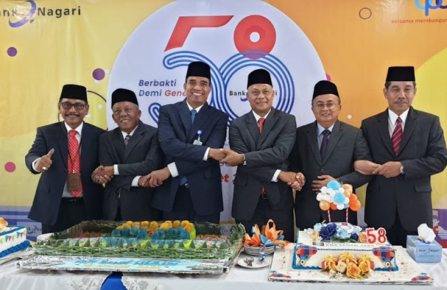 Bank Nagari Perkuat Layanan Digital Banking di Hari Jadi ke-58 Tahun