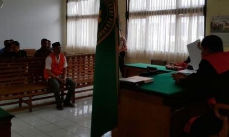 Hakim PN Pekanbaru Vonis Bandar Narkoba Penjara Seumur Hidup