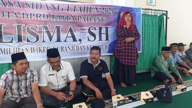 Salisma Gelar Reses di Masjid Nurul Ihsan Taruko