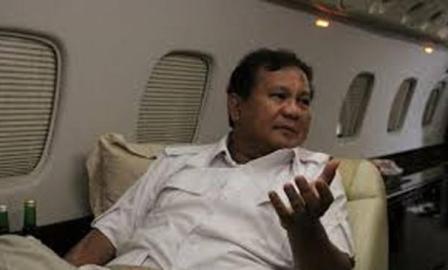 Prabowo Sambangi Bali Hadiri Kongres PDIP