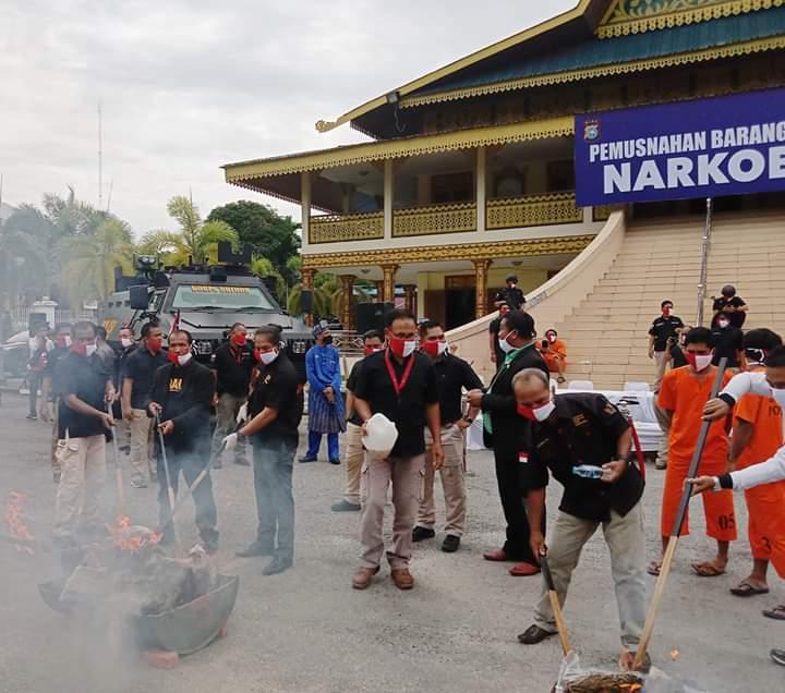 Granat Riau Apresiasi Kinerja Polda Riau Berantas Narkoba