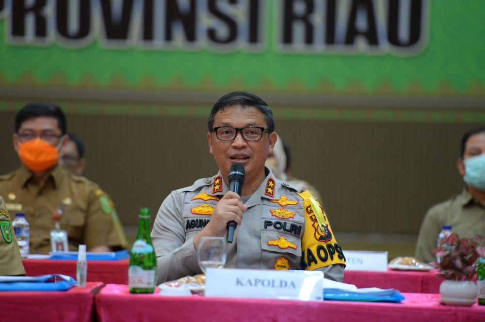 Kapolda Riau Harapkan Ops Patuh 2020 Bisa Turunkan Angka Kecelakaan dan Pelanggar Lalulintas