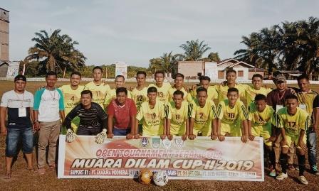 Muara Dilam Cup II: PS Desa Rambah Taklukkan Team HPRDS Rambah Samo