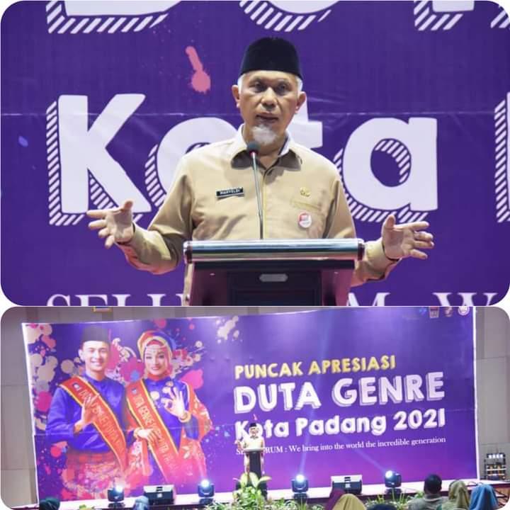 Pemilihan Duta GenRe Kota Padang Digelar, Wako Mahyeldi Sebut Ajang Memilih Generasi Muda Yang Kuat