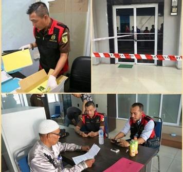 Kantor Dishub Meranti Di Geledah Dan Disegel Jaksa