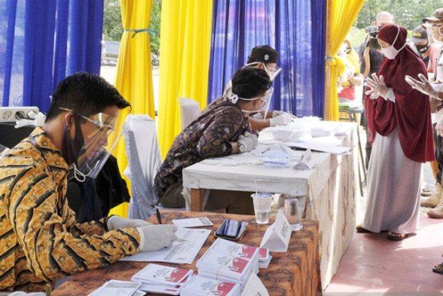 Di Tengah Pandemi Naik Partisipasi Pemilih Pilkada di Riau