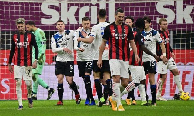 AC Milan Gagal Perlebar Jarak Dengan Sang Raival, Inter Milan