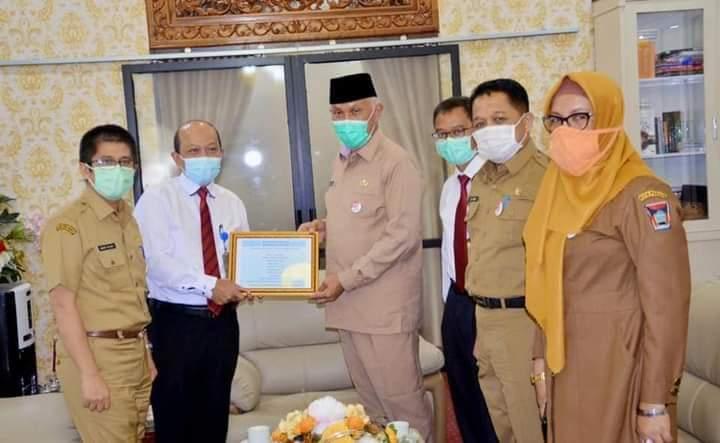 Sukseskan Kegiatan Pekan Panutan, Wali Kota Padang Laporkan SPT Tahunan PPh Tahun Pajak 2020