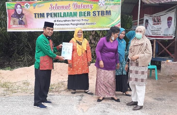 Perumahan Lingkar Mas Jadi Tempat Penilaian Lomba STBM Tingkat Kecamatan Pangkalan Kerinci