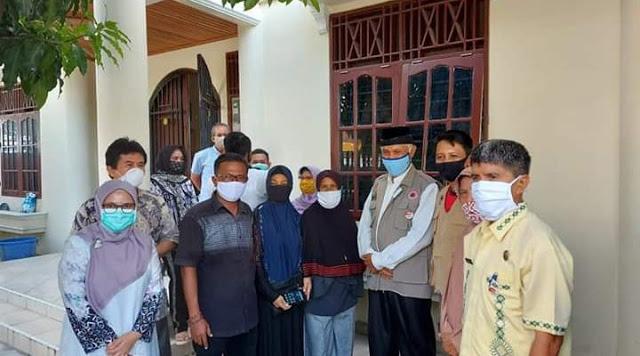 Wali Kota Padang Bersyukur Satu Keluarga di Sawahan Sembuh Covid 19