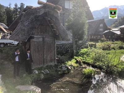 Pemprov Sumbar Pelajari Desa Budaya di Jepang