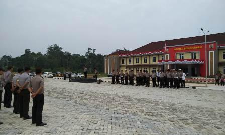 Tempati Gedung Baru, Polres Rohul Gelar Syukuran dan Doa Bersama