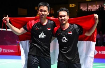 Kejuaraan Dunia Badminton, Hendra Tak Nyangka Rebut Gelar Ketiga