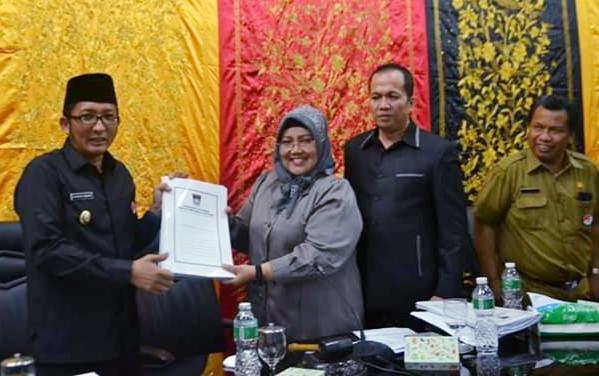 DPRD Kota Padang Menggelar Rapat Paripurna Bersama Pemko Padang