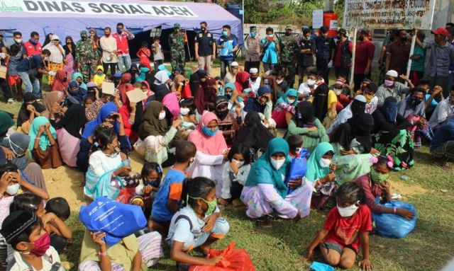 Dinsos Lhokseumawe Akui Ratusan Warga Rohingya Kabur dari Aceh, Begini Katanya...