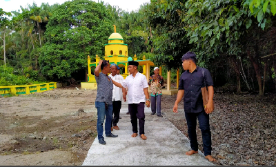 Bagus Santoso Prihatin, Situs Sejarah Datuk Laksamana Minim Sarana Pendukung