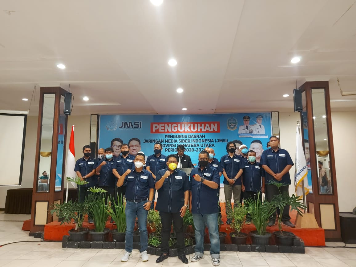 JMSI Sumatera Utara Resmi Dikukuhkan Ketua JMSI Pusat Teguh Santosa