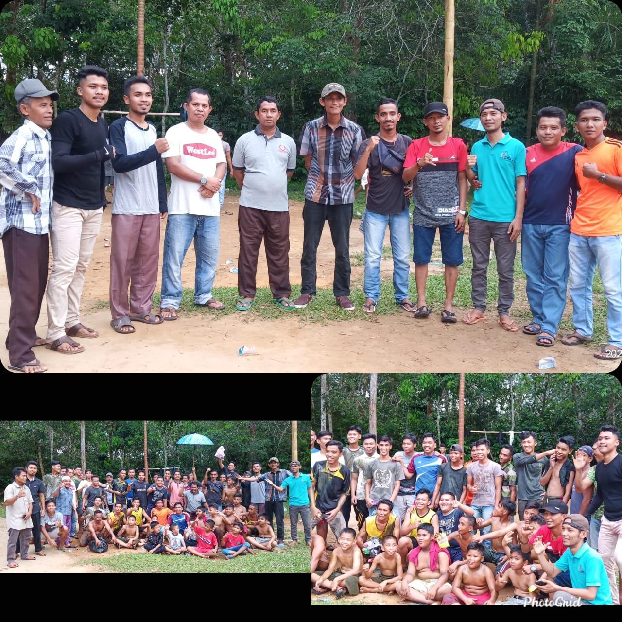 Hari Kemangan Umat Islam, Dusun Ngarai Adakan Pajat Pinang