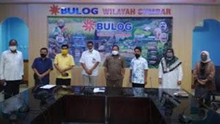Komisi II DPRD Kota Padang mengunjungi Kantor Buloq Sumbar