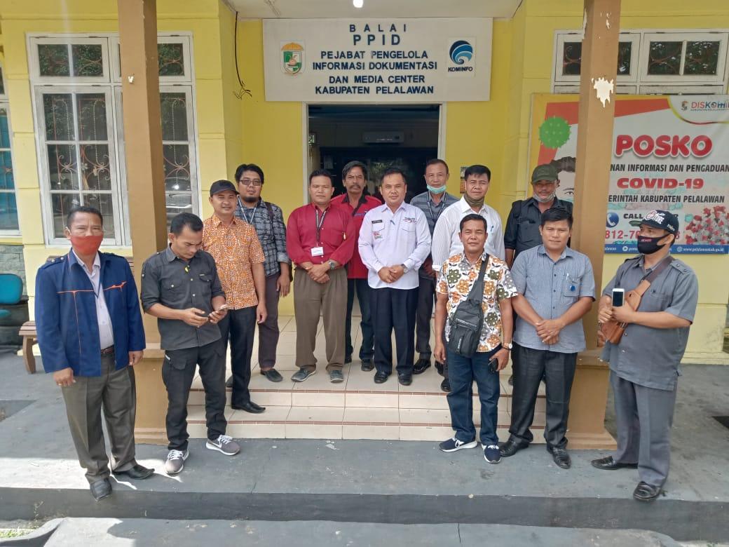 Kadis Kominfo Sambut Baik Kehadiran PPWI di Kabupaten Pelalawan dan Siap Menjadi Mitra Kerja